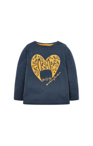 Mothercare | Navy Bunny T-Shirt