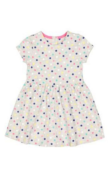 Mothercare | Grey Spot Dress