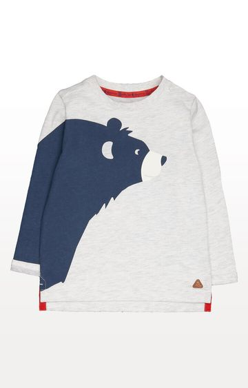 Mothercare | Grey Bear T-Shirt
