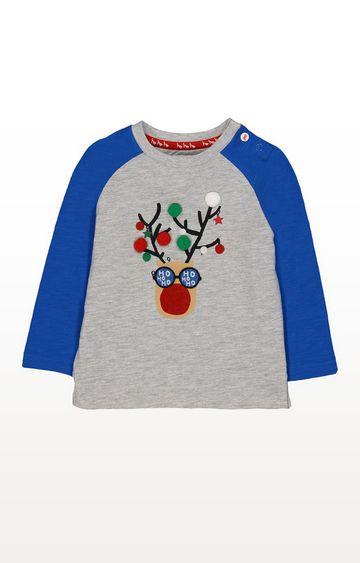 Mothercare   Festive Reindeer T-Shirt
