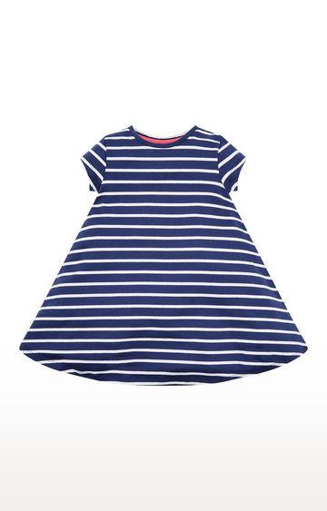 Mothercare   Navy Stripe Dress