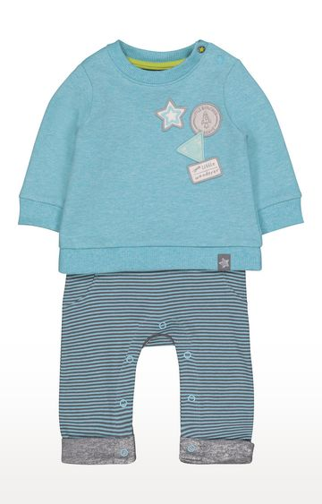 Mothercare | Space Explorer Mock Sweat All In One