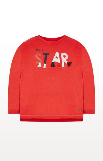 Mothercare   Red Star Tassle T-Shirt