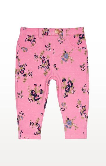 Mothercare | Pink Floral Trousers