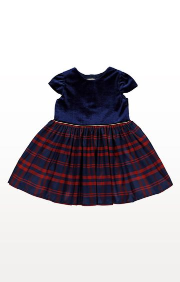 Mothercare | Blue Checked Frock