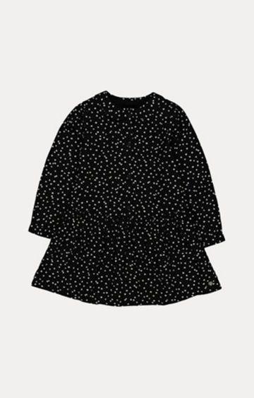 Mothercare | Black Spot Drop Waist Dress