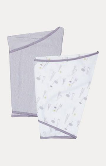 Mothercare | Essential Swaddles - Pack of 2