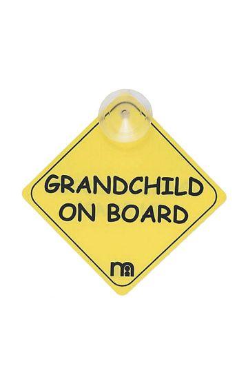 Mothercare | Grandchild On Board Sign