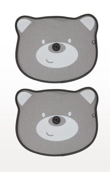 Mothercare   Black Pop-Up Bear Sunshades - Set of 2