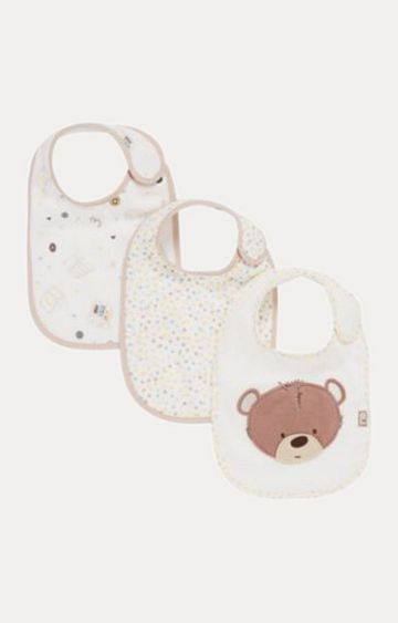 Mothercare | Teddy's Toy Box Bibs - Pack of 3