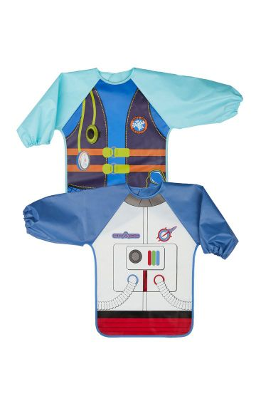 Mothercare | Multicoloured Diver And Astronaut Dress Up Coverall Bib