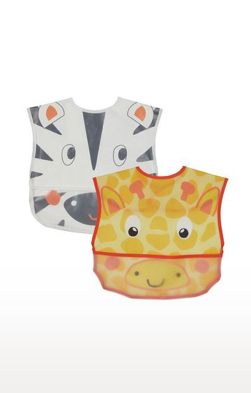 Mothercare | Mothercare Butterfly Bibs - 3 Pack