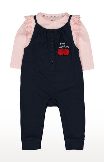 Mothercare | Blue Printed Dungaree