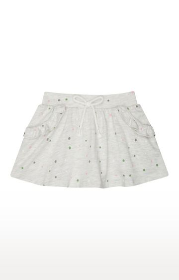 Mothercare | Grey Printed Skirt