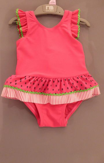 Mothercare | Pink Solid Swimwear