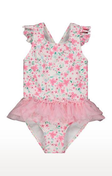 Mothercare   Pink Printed Swimwear