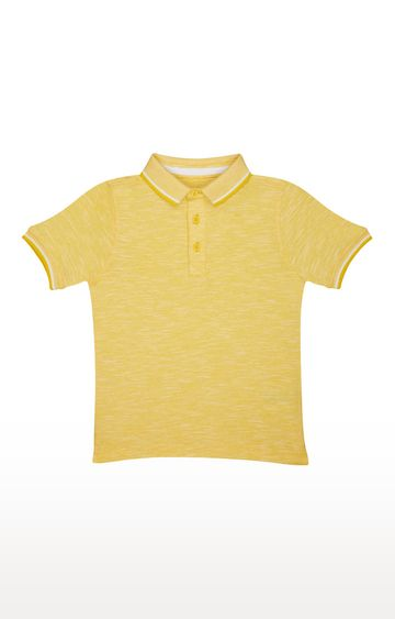 Mothercare | Yellow Solid T-Shirt
