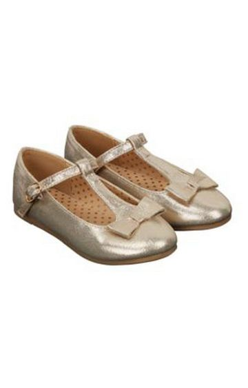 Mothercare | Gold Casual Slip-ons