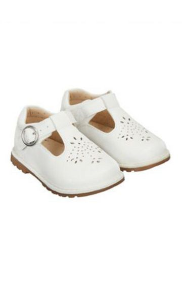 Mothercare | Off White Casual Slip-ons