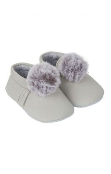 Mothercare | Grey Casual Slip-ons