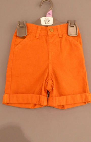 Mothercare | Orange Solid Shorts