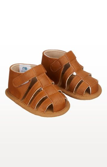 Mothercare | Tan Fisherman Baby Sandals