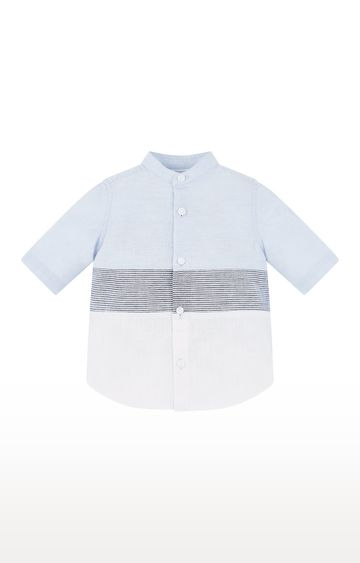 Mothercare | Blue Striped Shirt