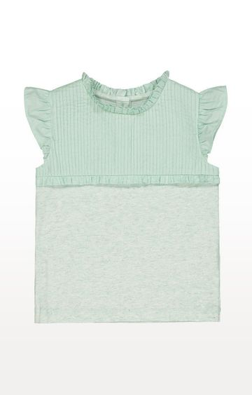 Mothercare | Turquoise Pintuck Blouse