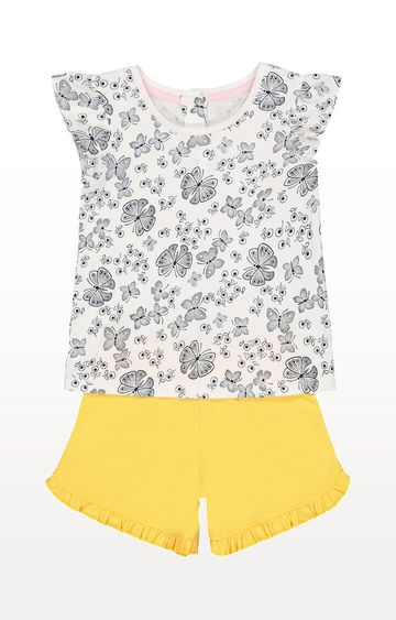 Mothercare | Butterfly T-Shirt and Shorts Set