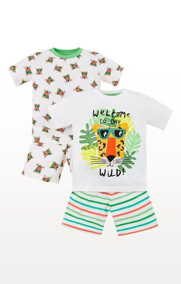 Mothercare | Jungle Tiger Shortie Pyjamas - 2 Pack