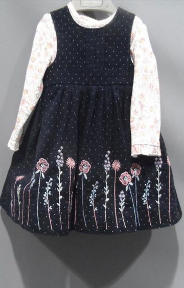 Mothercare   Navy Printed Dress