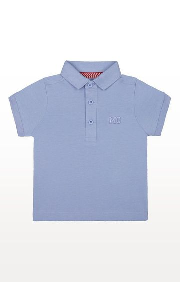 Mothercare   Blue Polo Shirt