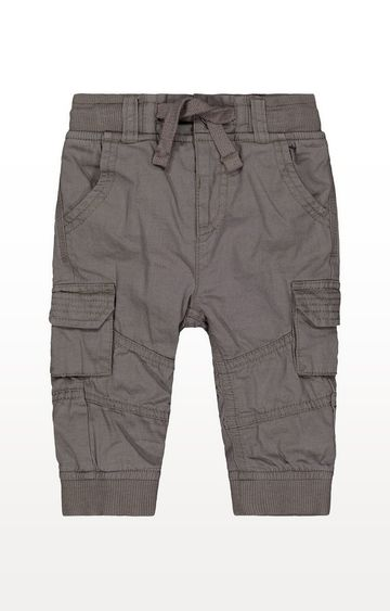 Mothercare | Charcoal Cargo Trousers