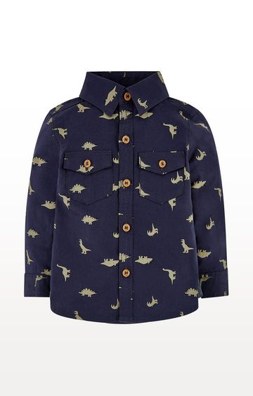 Mothercare | Navy Dinosaur Shirt
