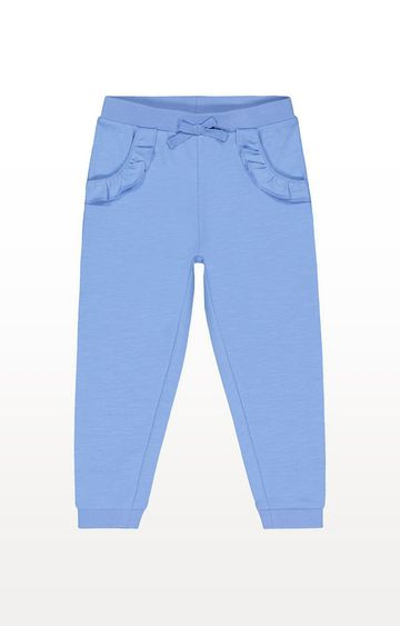 Mothercare | Blue Frilly Joggers