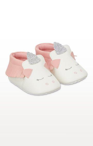 Mothercare | Unicorn Moccasin Pram Shoes