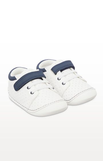 Mothercare | First Walker White Crawler Trainers