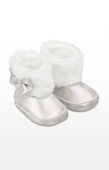 Mothercare | Silver Snug Pram Boots