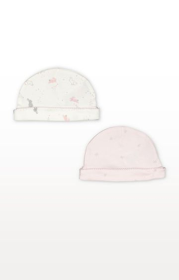 Mothercare | My First Pink Little Bunny Hats - 2 Pack