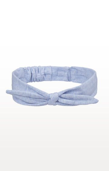 Mothercare | Blue and Floral Bow Headbands - 2 Pack