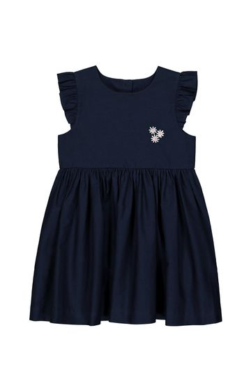 Mothercare   Navy Solid Frock