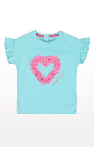 Mothercare | Green Heart T-Shirt