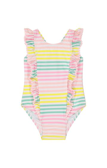 Mothercare | Pink Striped Swimsuit