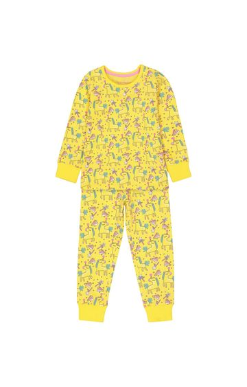 Mothercare | Yellow Printed Pyjamas