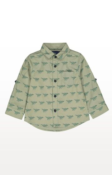 Mothercare | Green Dinosaur Shirt