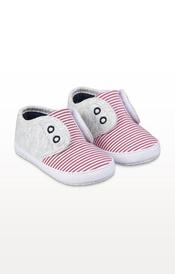 Mothercare | Striped Pram Shoes