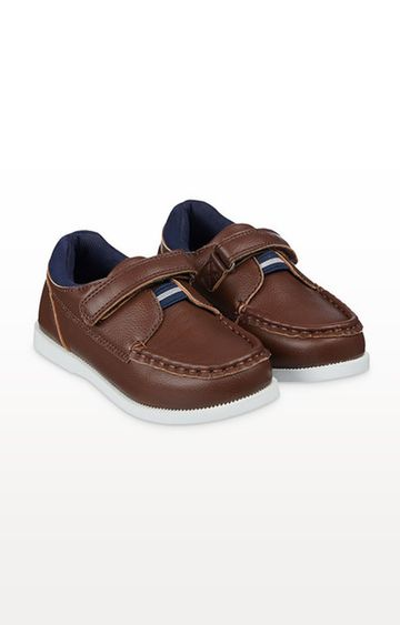 Mothercare   Brown Boat Shoes
