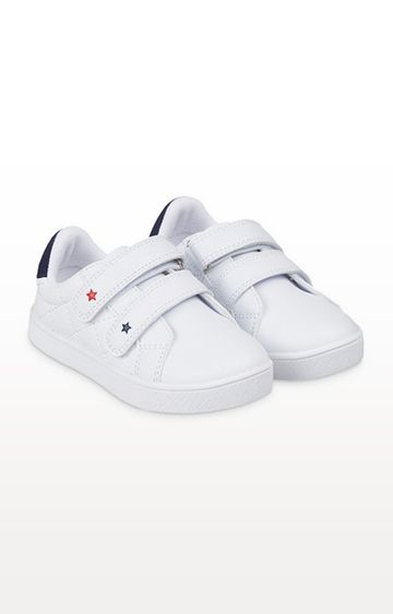 Mothercare | White Star Retro Trainers
