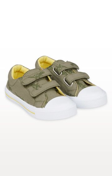 Mothercare | Dino Canvas Trainers