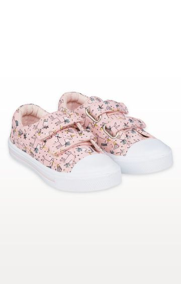Mothercare | Unicorn Canvas Trainers